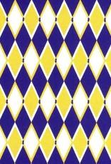 Fabric Finders FF DIAMOND PURPLE GOLD