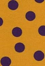 Fabric Finders FF PURPLE GOLD DOT TWILL