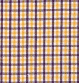 Fabric Finders FF TRICHECK PURPLE GOLD