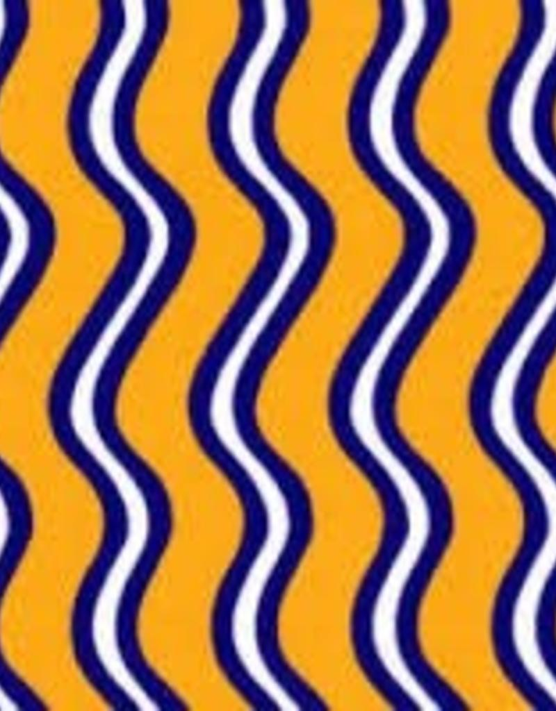 Fabric Finders FF GOLD PURPLE WAVE