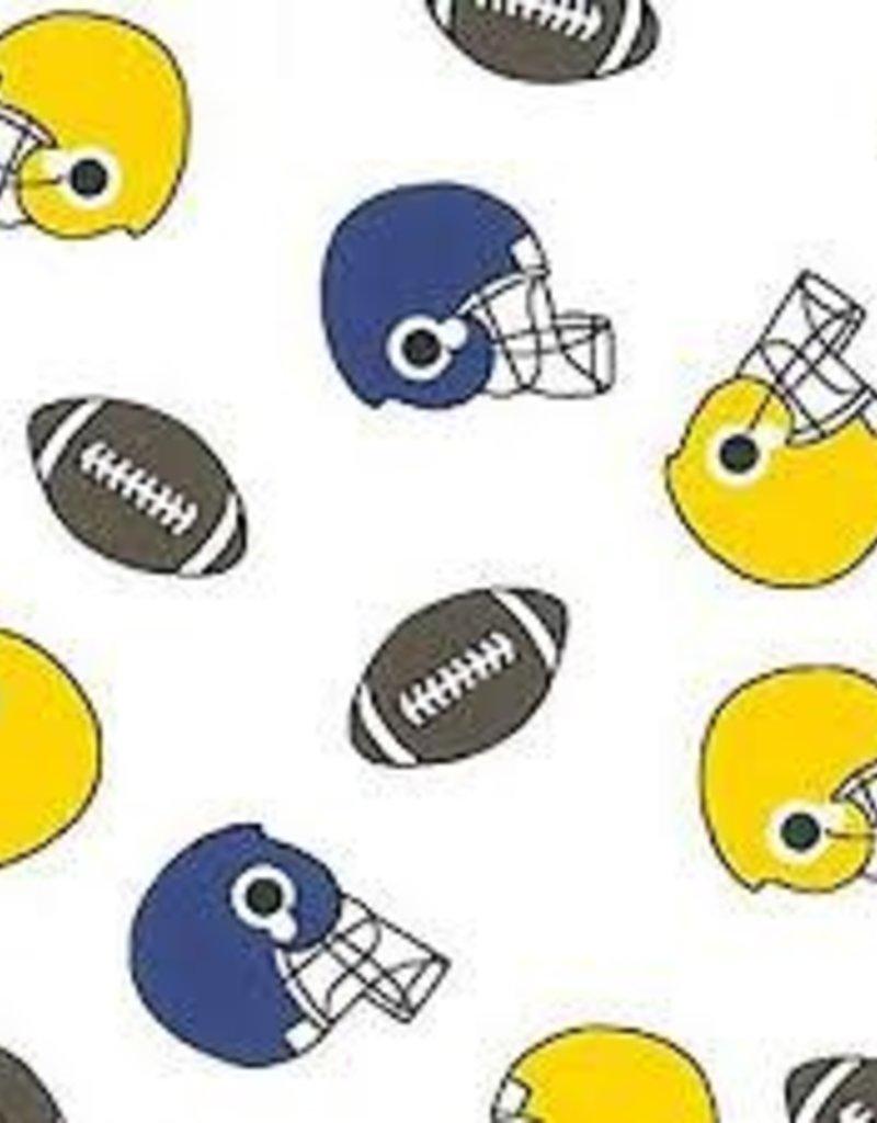 Fabric Finders FF WHITE - FOOTBALLS/HELMETS