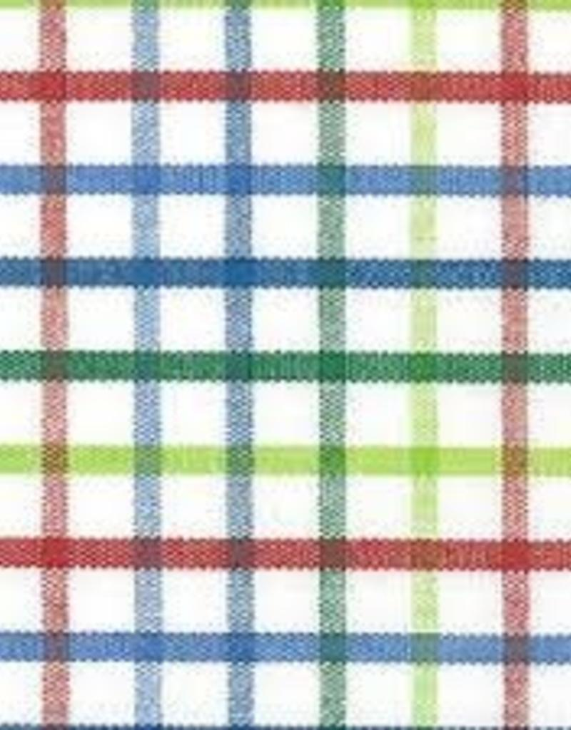 Fabric Finders FF T44 RED BLUE GREEN PLAID