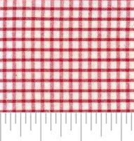Fabric Finders FF WS26 RED WINDOWPANE FABRIC