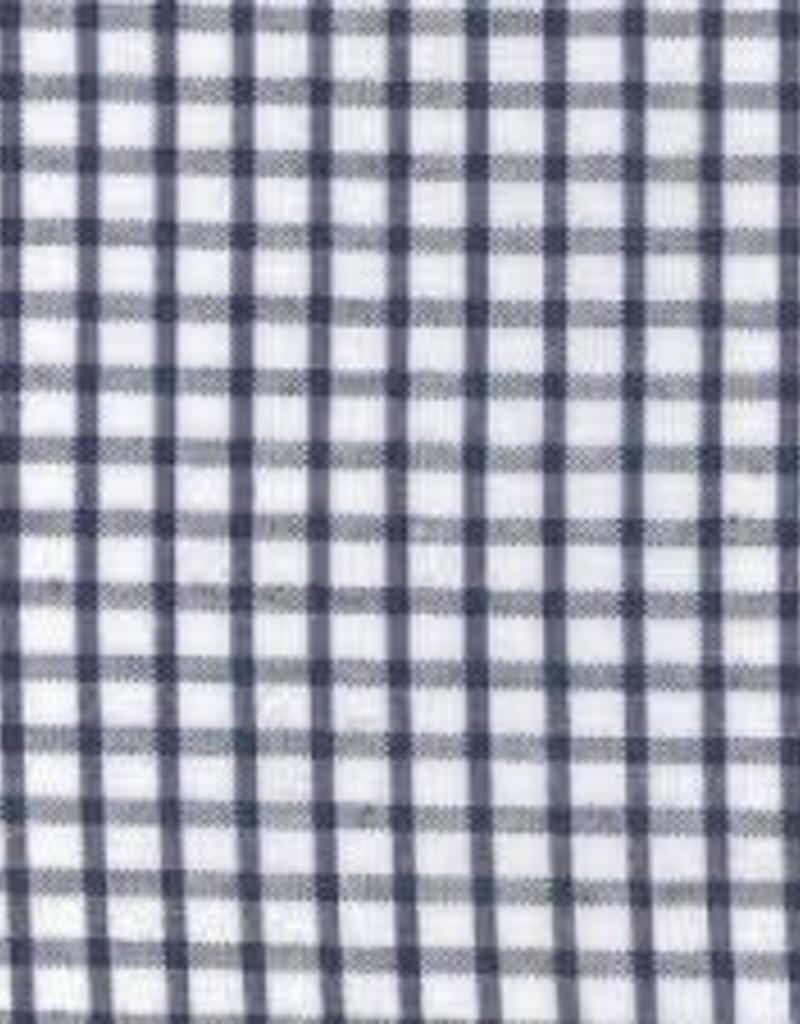 Fabric Finders FF WS25 WINDOWPANE NAVY