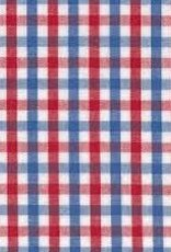 Fabric Finders FF TRICHECK RED/BLUE