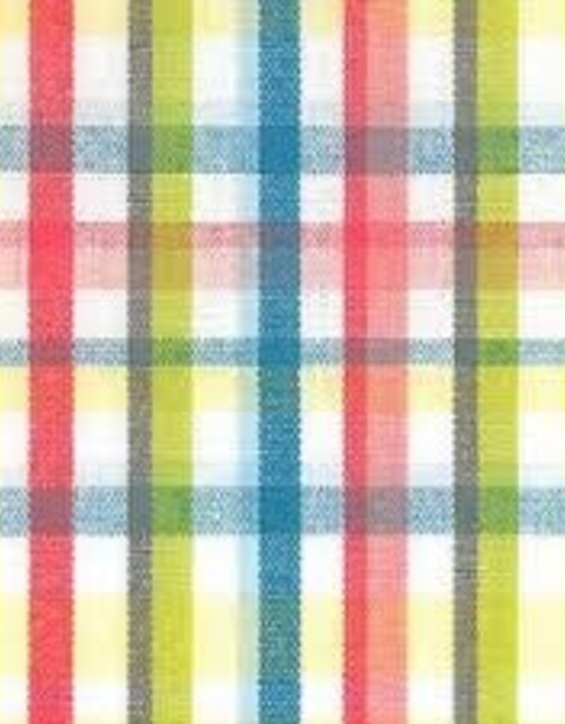 Fabric Finders FF PINK/YELLOW/LIME/BLUE PLAID