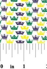 Fabric Finders FF MARDI GRAS MINI CROWN
