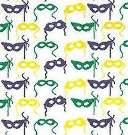 Fabric Finders FF MARDI GRAS MINI MASK