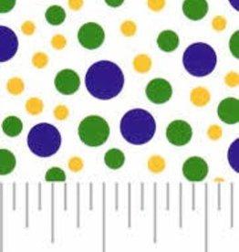 Fabric Finders FF MARDI GRAS DOT