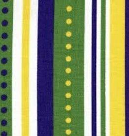 Fabric Finders FF MARDI GRAS STRIPE
