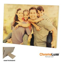 Conde Sublimation 5x7 ChromaLuxe Natural Wood Photo Panel