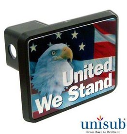 Conde Sublimation Rectangle Hitch Cover with Insert