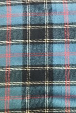 COTTON COTTON BLUE FLANNEL PLAID