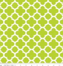 RILEY BLAKE RB GREEN QUATREFOIL