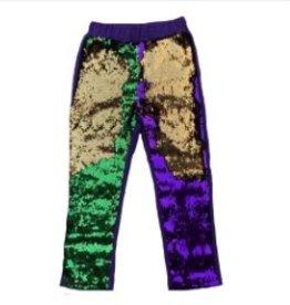 Mardi Gras flip sequin leggings - infant/toddler/youth