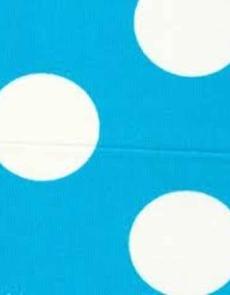 Fabric Finders FF TURQUOISE / WHITE DOT