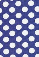Fabric Finders FF ROYAL / WHITE DOT