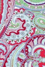 Fabric Finders FF RED / GREEN PAISLEY