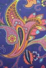 Fabric Finders FF PURPLE PAISLEY