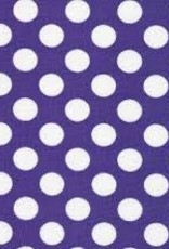 Fabric Finders FF PURPLE / WHITE DOT