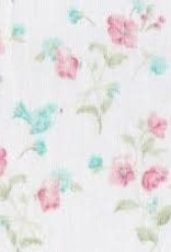 Fabric Finders FF PINK/GREEN/WHITE FLORAL