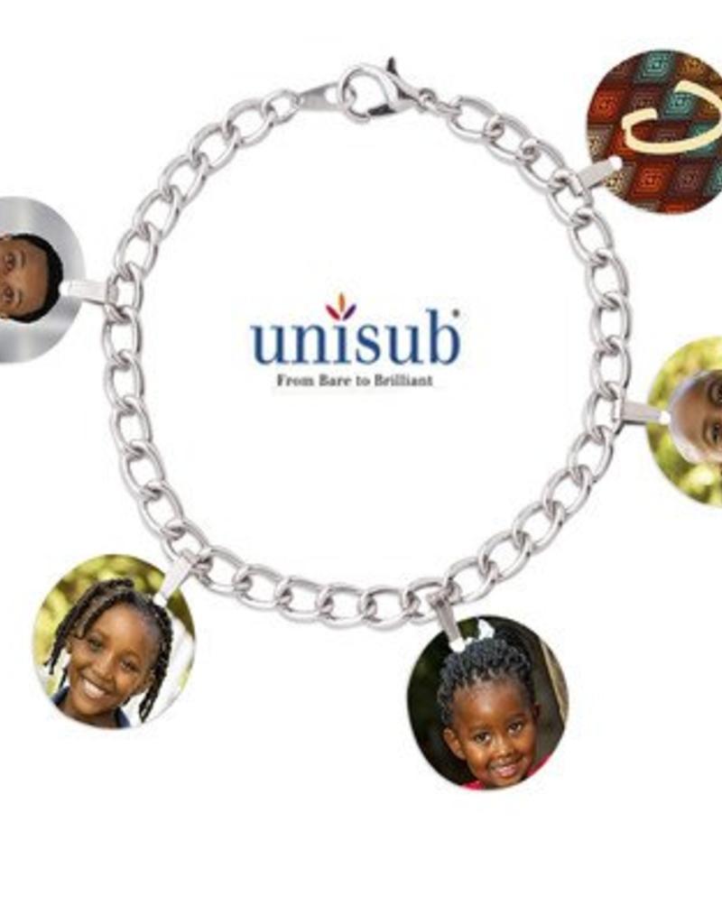 Conde Sublimation 5 Charm Bracelet blank