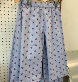 PEANUTS GALLERY Chambray Crawfish Pants