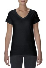 Anvil Anvil Women's Lightweigh Fitted V-Neck Tee