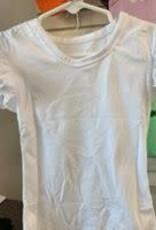 PEANUTS GALLERY Flutter Sleeve Ruffle Shirt