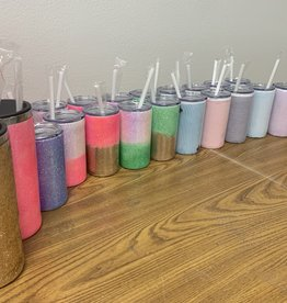 Crafty Shack 12 oz Custom Glitter Tumbler