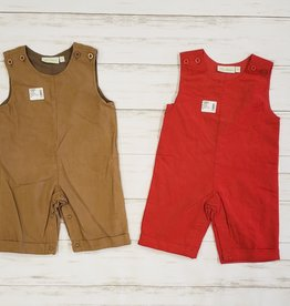 BE MINE CORDUROY OVERALL
