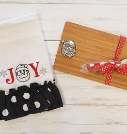 XMAS Cutting Board/Towel Gift Set