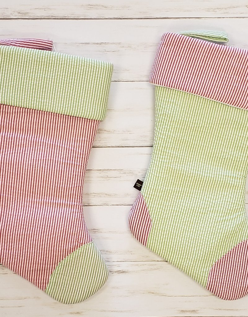 OH MINT CHRISTMAS STOCKING