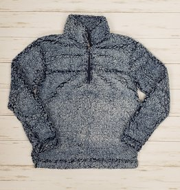 YOUTH SHERPA QUARTER ZIP PULLOVER