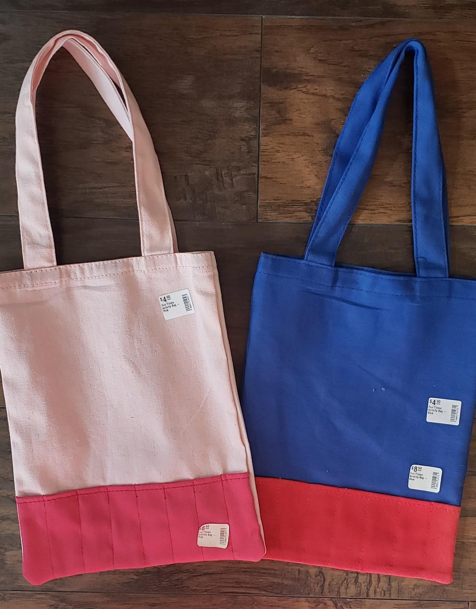 Fun Times Activity Bag - Blue
