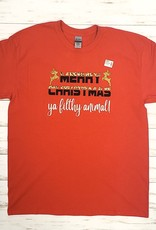 Merry Christmas Ya Filthy Animal Shirt (Large)