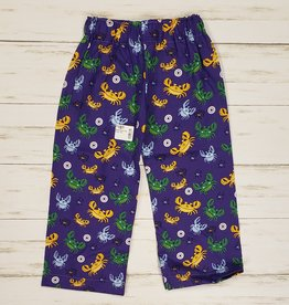Mardi Gras Crab Pants