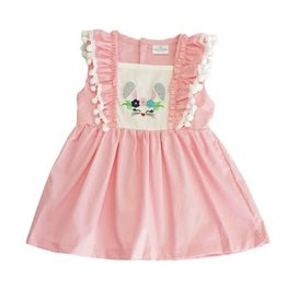 Pink Bunny Girls Dress