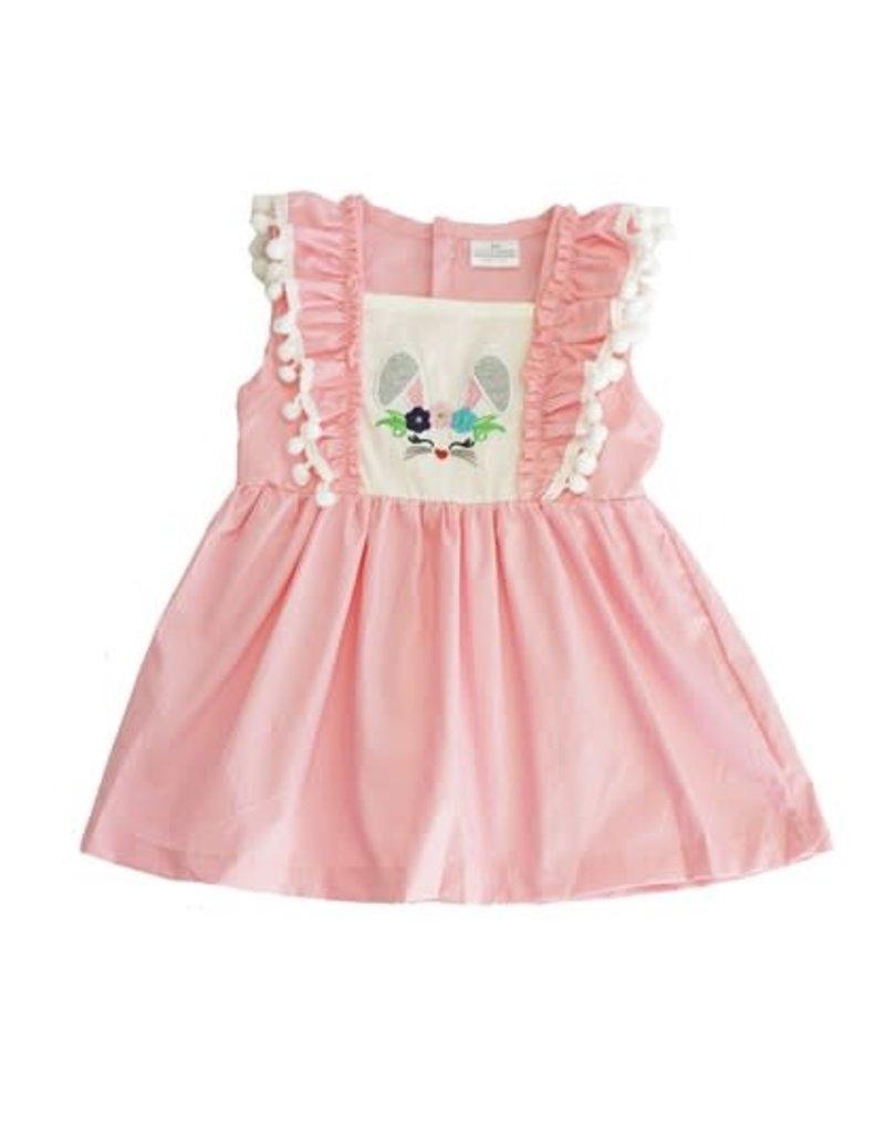 Pink Bunny Girls Dress