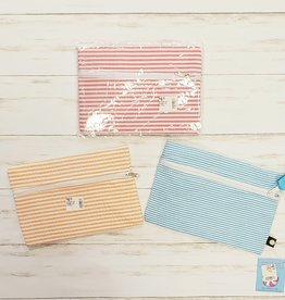 OH MINT SS COSMO ZIP CLUTCH