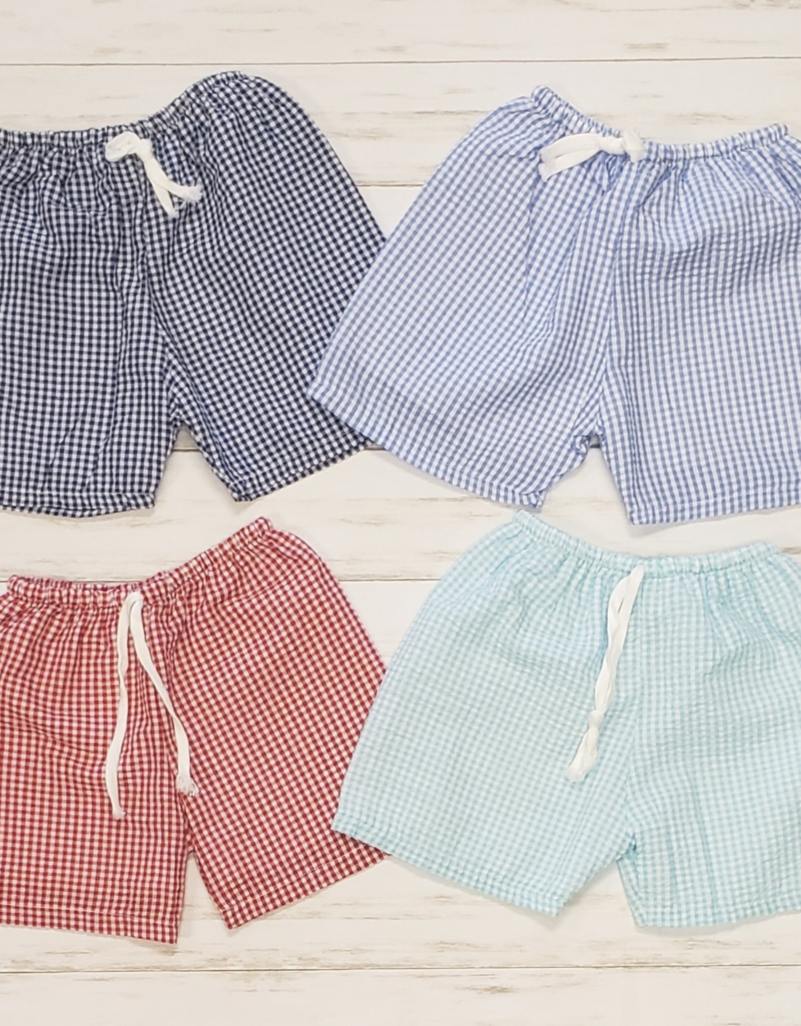 Seersucker Shorts*