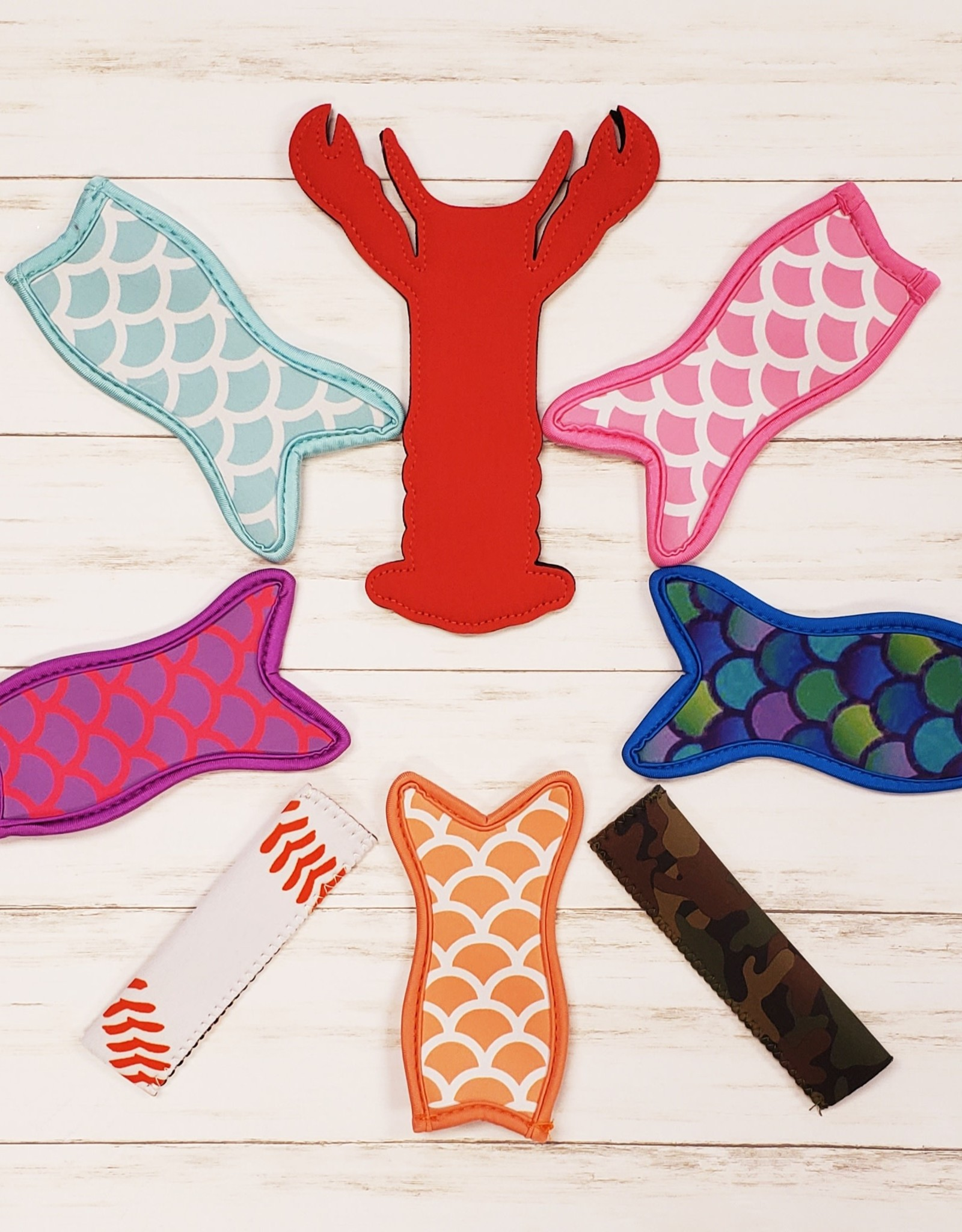 Mermaid Popsicle Holders