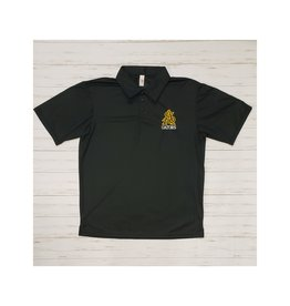 STA Embroidered A4 Mositure Wicking Polo Black (2XL)