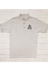 STA Embroidered Grey Gildan DryBlend Polo (Medium)