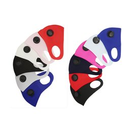 Adult Solid Colored Poly Mask w/ Valve