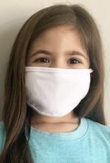 Child's 100% Cotton Face Mask (White)