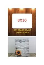Blank Dry Erase Board (8x10)