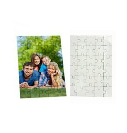 Blank Cardboard Puzzle-7.5x9.5 inches (30 pcs.)