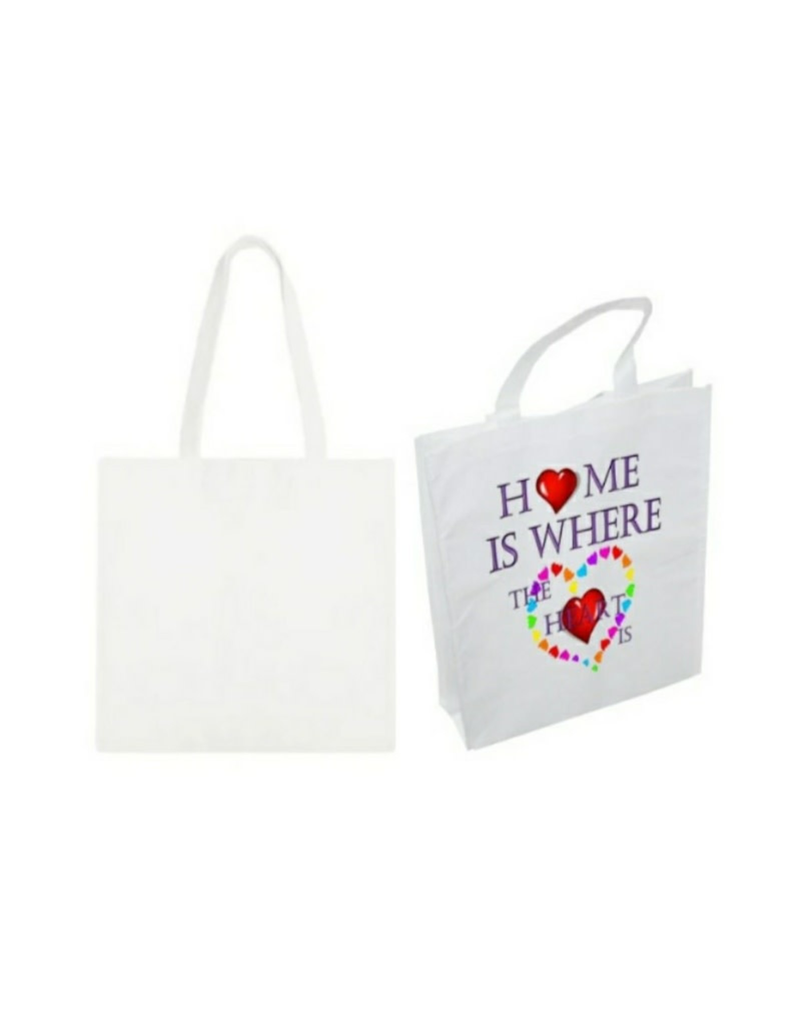 Blank Sublimation Tote Bag (15x16)