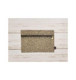 Oh Mint Cheetah Cosmo Bag